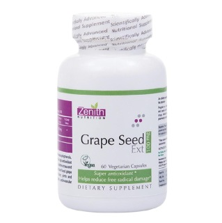 Zenith Nutrition Grape Seed Extract (100mg),  60 veggie capsule(s)