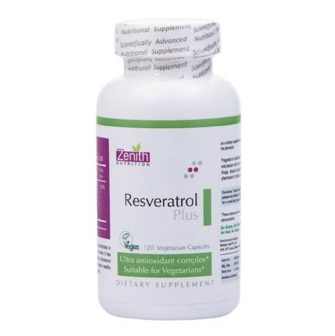Zenith Nutrition Resveratrol/Green Tea/C/Grapeseed Plus,  120 capsules