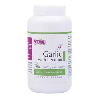 Zenith Nutrition Garlic with Lecithin,  200 veggie capsule(s)