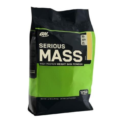 ON (Optimum Nutrition) Serious Mass,  Banana  12 lb