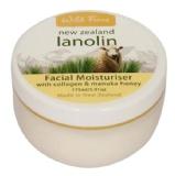Wild Ferns New Zealand Lanolin Facial Moisturizer Creme,  175 Ml  Collagen & Manuka Honey