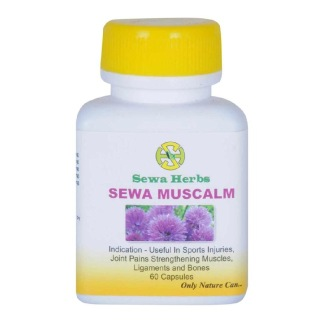 Sewa Herbs Muscalm,  60 capsules