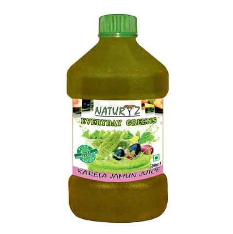 Naturyz Karela Jamun Juice,  Unflavoured  0.500 L