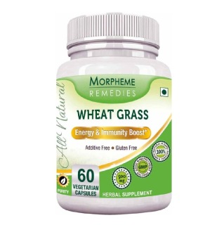 Morpheme Remedies Wheat Grass (500 mg),  60 veggie capsule(s)
