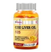 St.Botanica Cod Liver Oil 525,  90 softgels