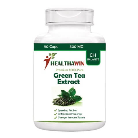 Healthawin Green Tea Extract,  90 capsules  Natural