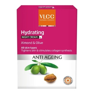 VLCC Hydrating Night Cream,  50 g  Anti Ageing