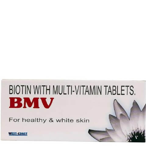 BMV Biotin Multivitamin,  Unflavoured  30 tablet(s)