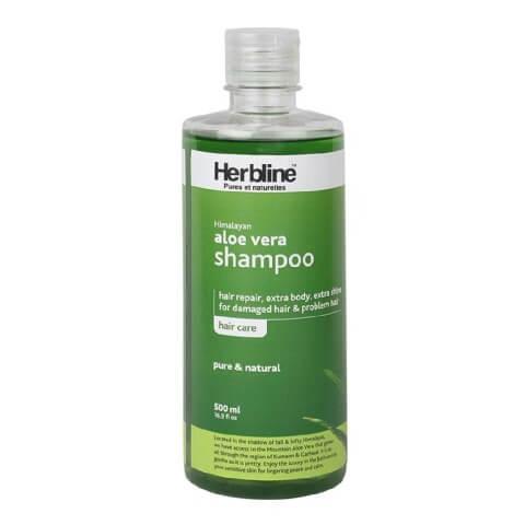 Herbline Himalayan Aloe Vera Shampoo,  500 ml  Pure & Natural