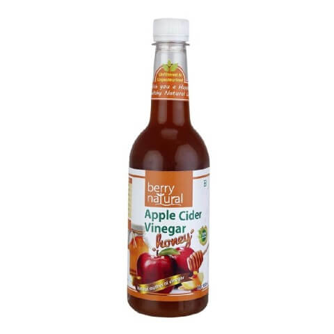 Berry Natural Apple Cider Vinegar with Honey,  0.5 L  Unflavoured
