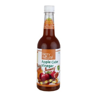 Berry Natural Apple Cider Vinegar with Honey,  0.5 L  Unflavoured