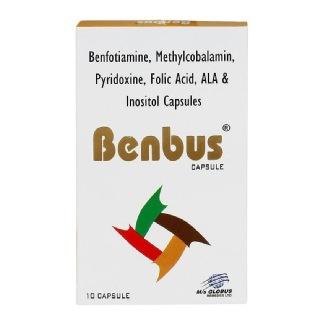Globus Benbus,  Unflavoured  10 capsules