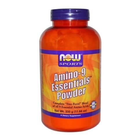 Now Amino-9 Essentials Powder,  0.73 lb  Unflavoured