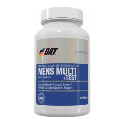 GAT Mens Multi+Test,  Unflavoured  60 tablet(s)