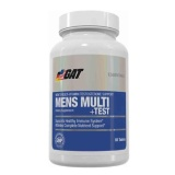 GAT Mens Multi+Test,  Unflavoured  60 Tablet(s)