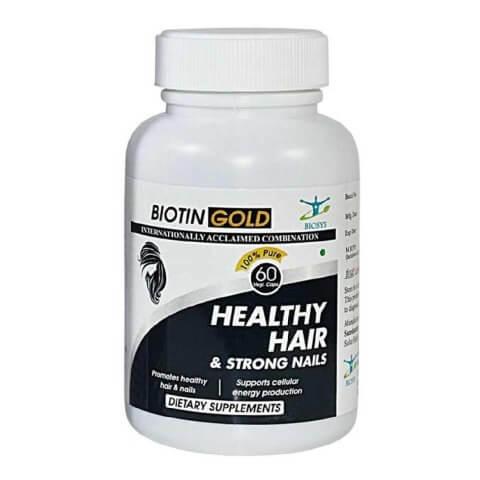 Biosys Biotin Gold,  Unflavoured  60 veggie capsule(s)
