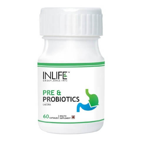 INLIFE Pre & Probiotics,  60 capsules