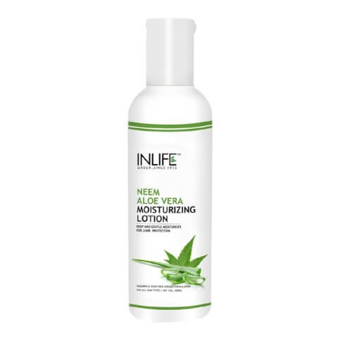 INLIFE Natural Face Moisturizing Lotion,  200 ml  Neem Aloe Vera