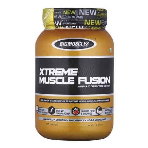 Big Muscles Xtreme Muscle Fusion,  2.2 lb  Chocolate