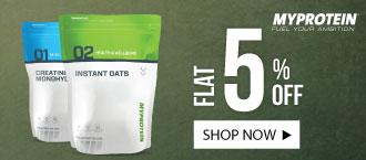 myprotein 5% discount