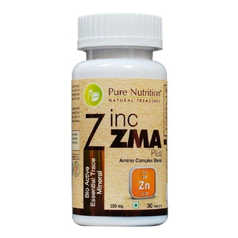 Pure Nutrition Zinc ZMA Plus,  30 tablet(s)