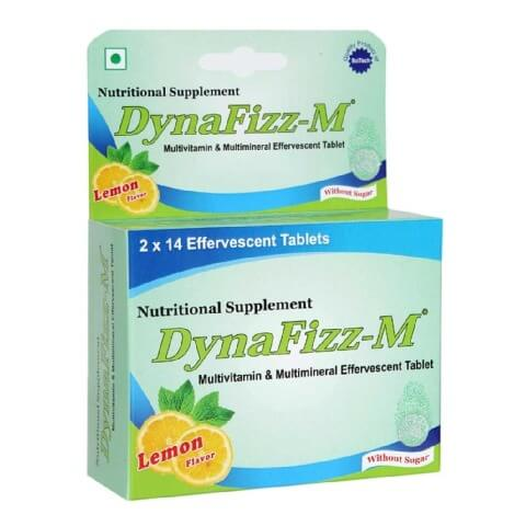 DynaFizz Multivitamin and Multimineral,  Lemon  28 tablet(s)
