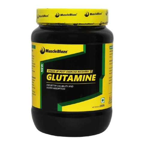 MuscleBlaze Micronized Glutamine,  0.55 lb  Unflavoured