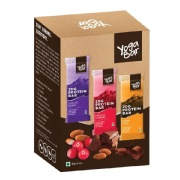Yogabars Protein Bar,  6 Piece(s)/Pack  Assorted