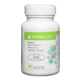 Herbalife Formula 2 Multivitamin Mineral And Herbal Tablets
