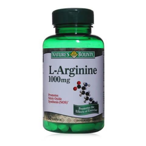 Nature's Bounty L-Arginine (1000 mg),  50 tablet(s)