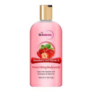 St.Botanica Nourishing Luxury Bodywash,  300 ml  Strawberry & Vitamin E