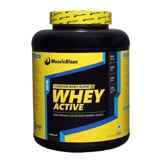MuscleBlaze Whey Active SPL,  4.4 lb  Chocolate (2Kg)