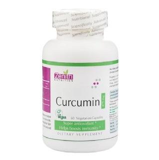 Zenith Nutrition Curcumin,  60 capsules