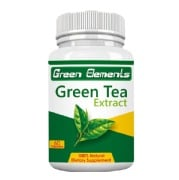 Green Elements Green Tea Extract,  60 capsules  Unflavoured