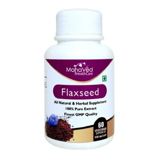 Mahaved Flaxseed Extract,  60 capsules