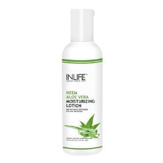 INLIFE Natural Face Moisturizing Lotion,  200 ml  Neem Aloe Vera