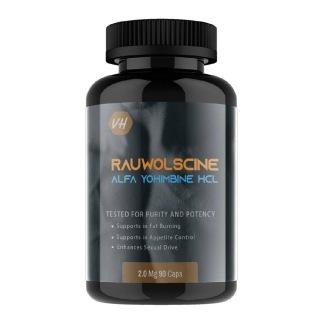 1 - Vitaminhaat Rauwolscine Alpha Yohimbine HCL,  90 capsules  Unflavoured