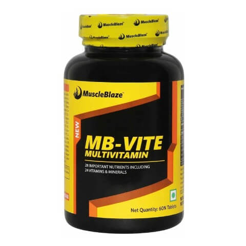 MuscleBlaze MB VITE Multivitamin, Unflavoured 60 tablet s  available at Healthkart for Rs.499