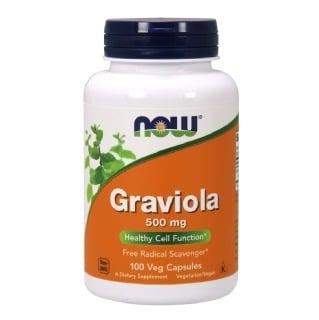 Now Graviola (500mg),  100 capsules