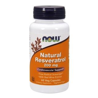 Now Natural Resveratrol (200 mg),  60 veggie capsule(s)