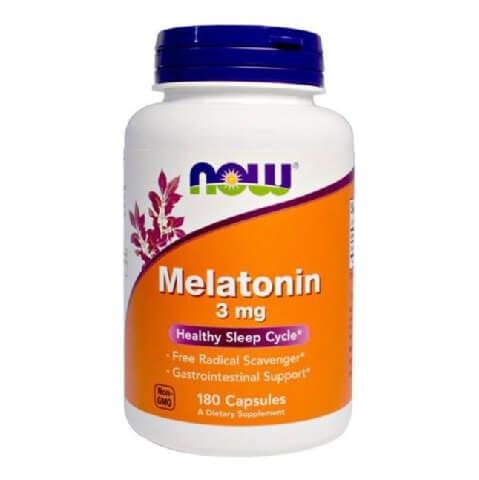 Now Melatonin (3mg),  180 capsules