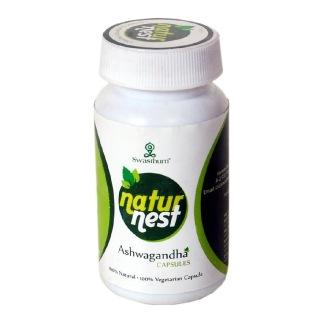 NaturNest Ashwagandha,  60 capsules