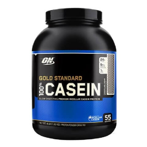 ON (Optimum Nutrition) Gold Standard 100% Casein,  4 lb  Cookies & Cream