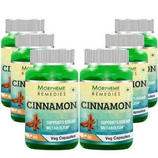 Morpheme Remedies Cinnamon (500 mg),  6 Piece(s)/Pack
