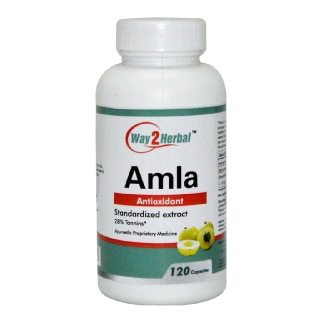 Way2Herbal Amla,  120 capsules