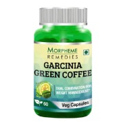 Morpheme Remedies Garcinia Green Coffee (500mg),  60 veggie capsule(s)