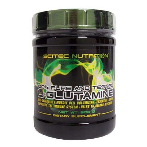 Scitec Nutrition L-Glutamine,  0.67 lb  Unflavoured