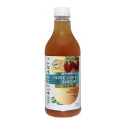 HealthKart Apple Cider Vinegar with Mother,  0.5 L  Unflavoured