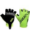 KOBO Ladies Exercise Gel Hand Protector Gloves (CG-04),  Green  Medium
