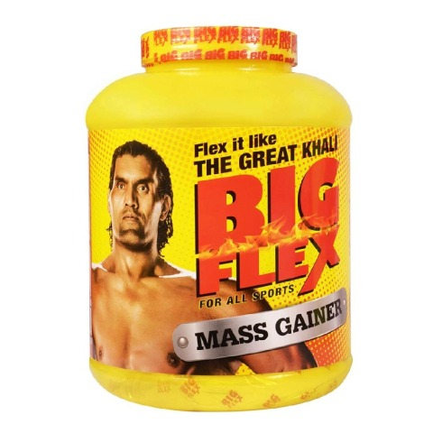 Big Flex Mass Gainer,  4.4 lb  Chocolate Brownie